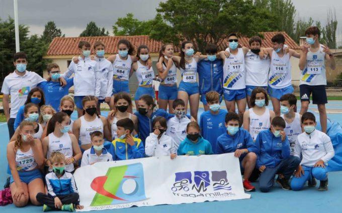 Nuevo éxito de la escuela de atletismo del Tragamillas en el Campeonato Provincial al aire libre