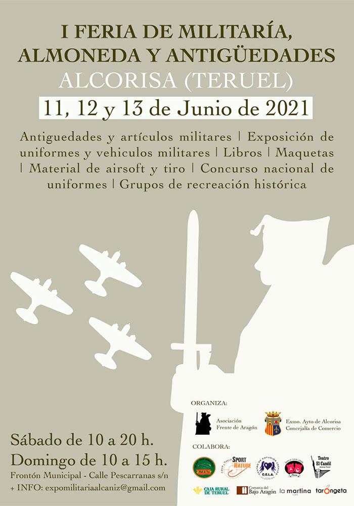 I Feria Nacional de Mlitaría, Almoneda y Antigüedades de Alcorisa