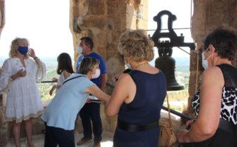 La torre del campanario de La Fresneda vuelve a ser visitable tras su restauración y se incorpora a la oferta turística
