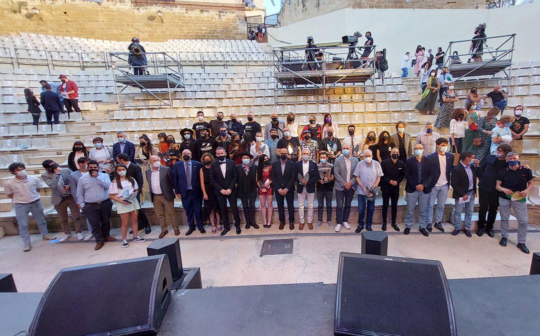 Anaju e Isabel Marco, las grandes triunfadoras de los Premios de la Música Aragonesa en Alcañiz