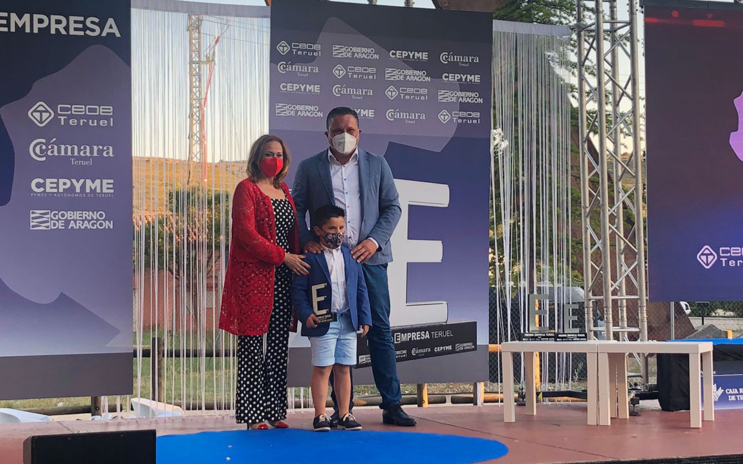 premio innovacion alternatic gala premio empresa 2021 teruel
