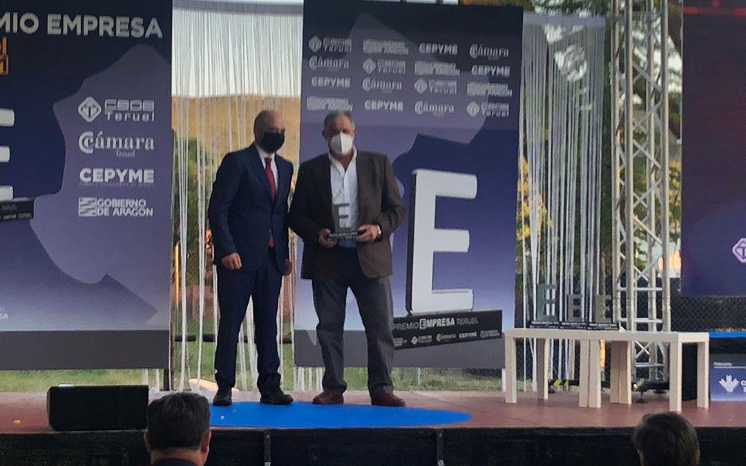 gala premio empresa teruel 2021 internacionalizacion tres reyes
