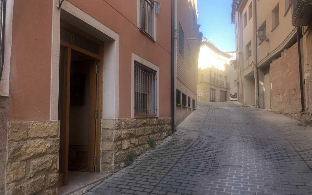 El hombre residía en una casa de la calle San Juan de Alcañiz / L.C.