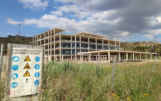 Las obras del nuevo Hospital de Alcañiz se podrían retomar la próxima semana