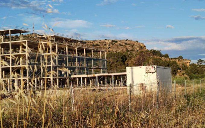 Se retoman las obras del Hospital de Alcañiz después de dos años y medio paralizadas
