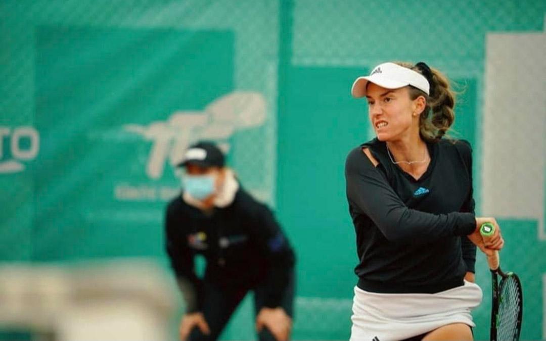 Imagen de archivo de Irene Burillo en un torneo/ Fuente: I.B