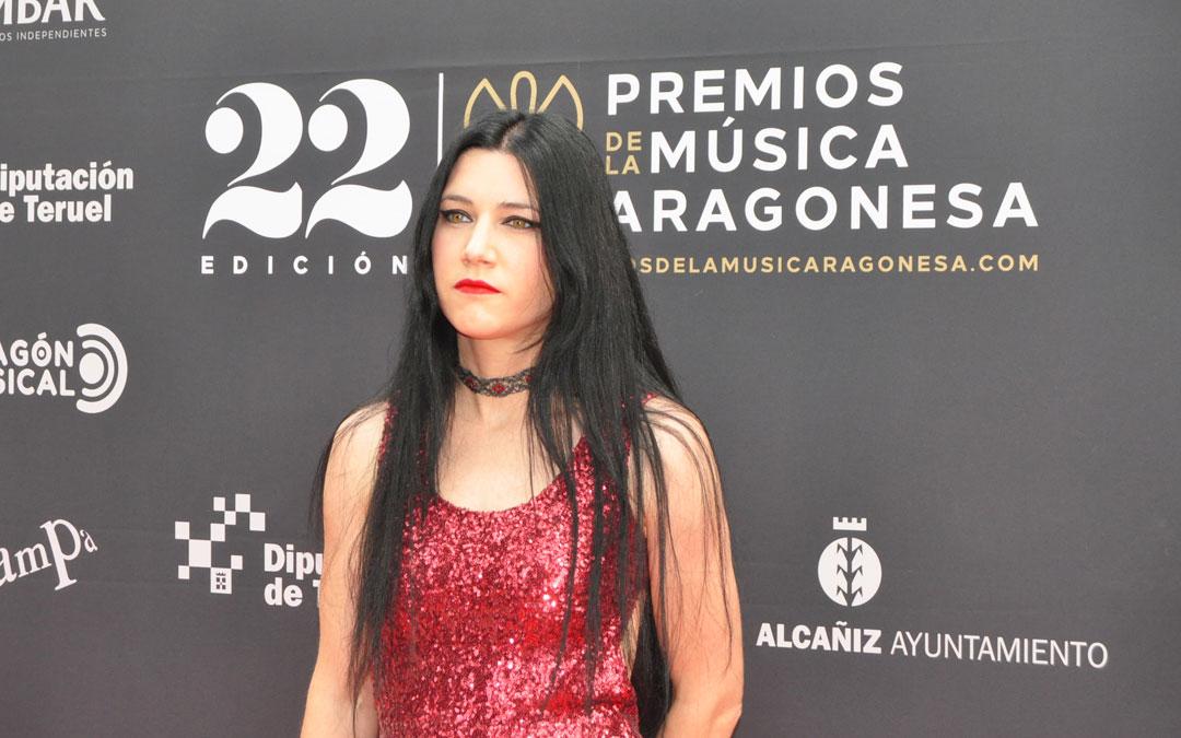 Isabel Marco ha sido una de las galardonadas con el premio como Mejor Solista. J.L.