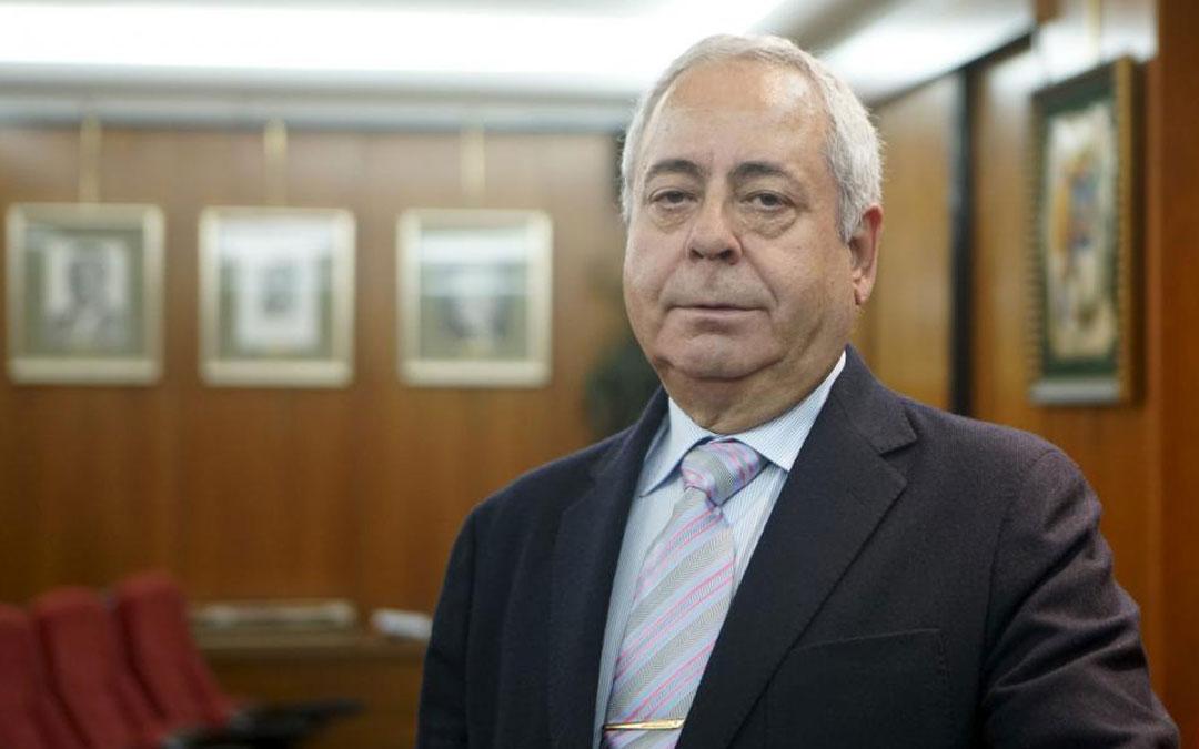 Ismael Sánchez es el presidente del Colegio de Médicos de Teruel / A. García/Bykofoto