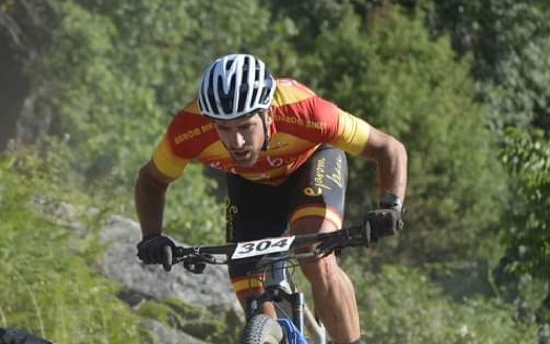 El biker alcañizano Iván Romero. Foto. I.R.