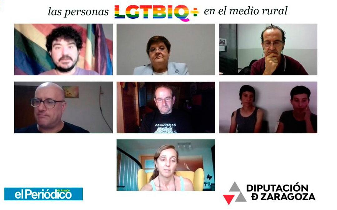 Jornada 'Las personas LGTBIQ+' en el medio rural / Fuente: DPZ