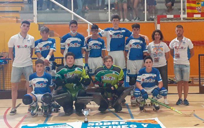 El juvenil del TransLop Alcañiz Club Patín finaliza octavo en la fase final del Campeonato de España de hockey patines