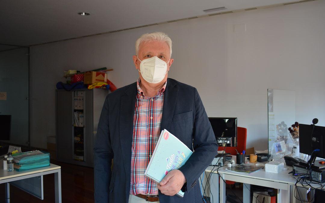 Luis Arrufat, autor de 'El Mondongo'./I.M.