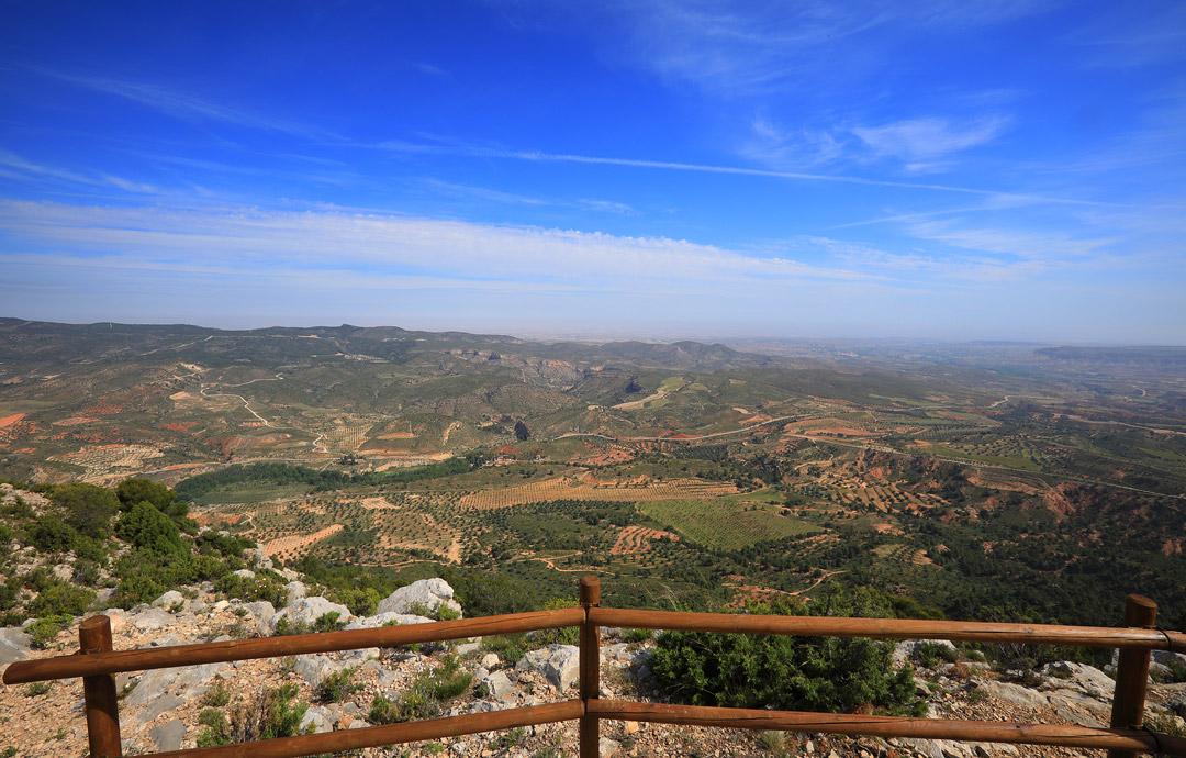 vista panoramica mirador sierra de arcos ariño