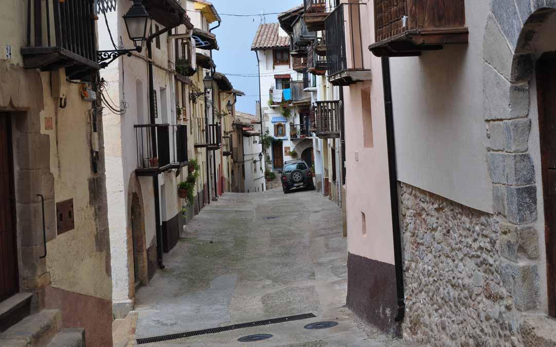 La Calle Rosario será objeto de reforma en los próximos meses. J. L.