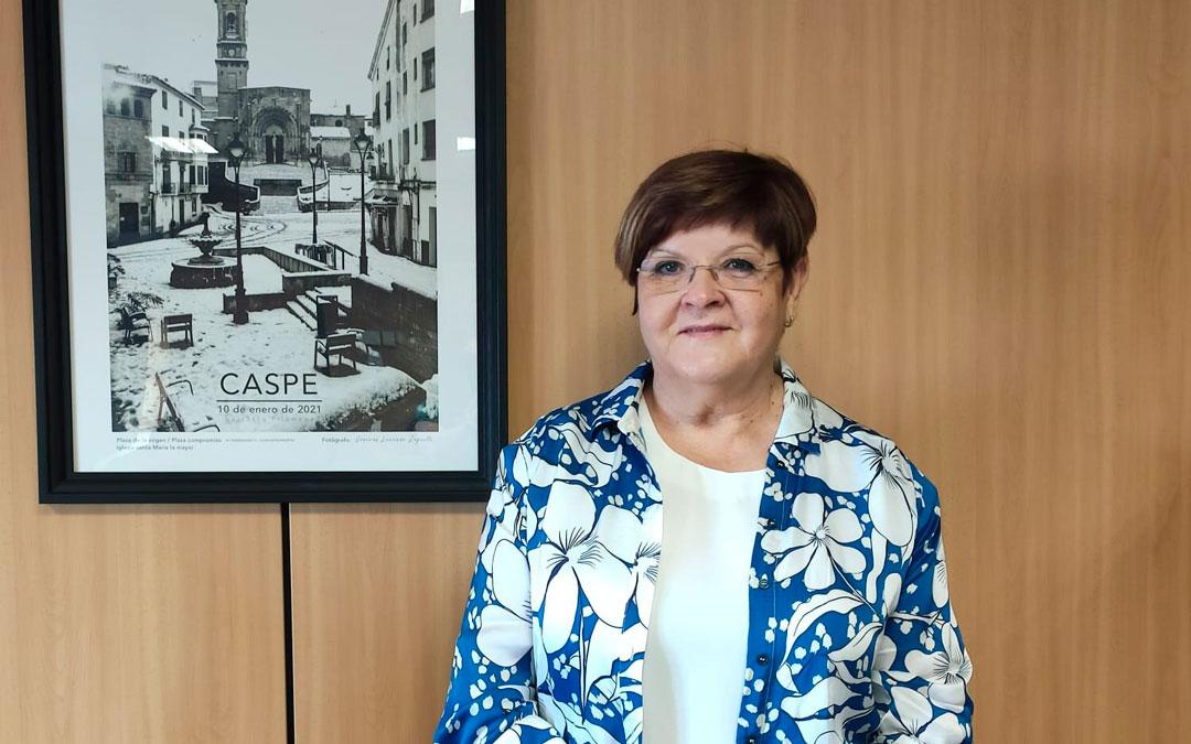 Pilar Mustieles explica el trabajo que hay detrás de las fiestas del Compromiso / Fuente: Ayuntamiento de Caspe