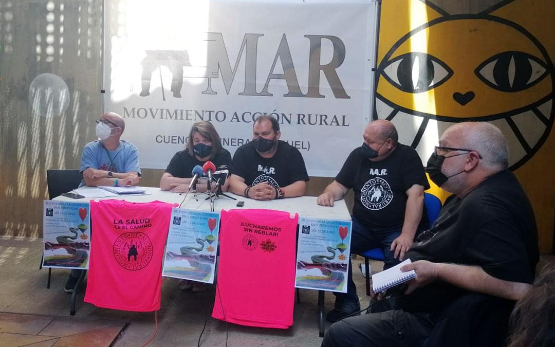 Rueda de prensa este martes en Teruel para dar a conocer la nueva acción reivindicativa del M.A.R./ M.A.R