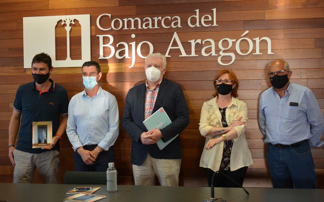 El acto se ha celebrado este martes en sede comarcal./I.M.