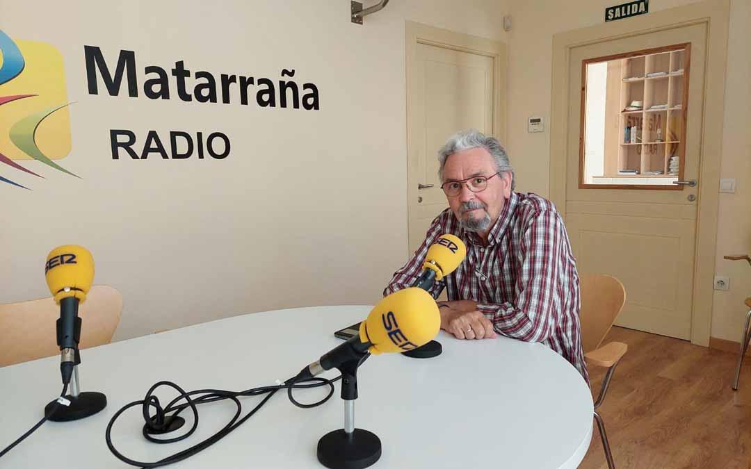 Enrique Segurana en el espacio musical Fem Memoria.