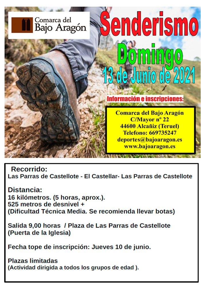 Ruta senderista en Las Parras de Castellote