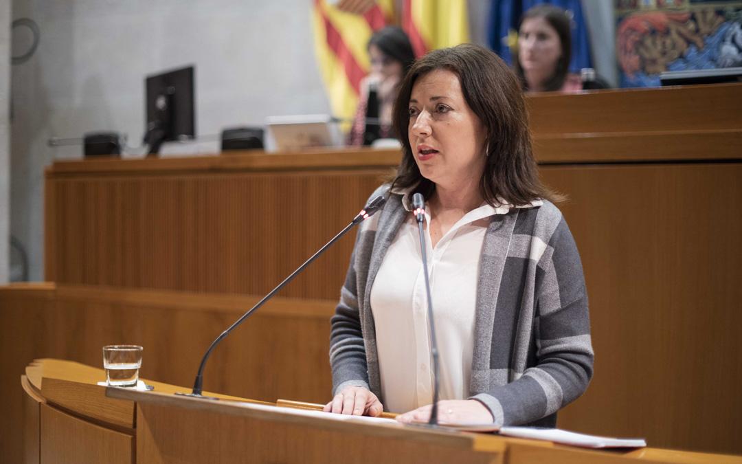 Silvia Gimeno, diputada socialista en las Cortes de Aragón. / PSOE Cortes