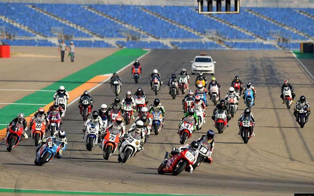 Imagen de archivo del Campeonato Mundial de Superbikes./Motorland Aragón