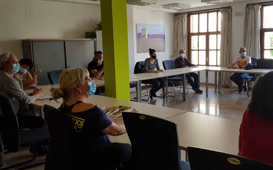 El taller dio comienzo el martes y cuenta con 10 alumnos. Comarca Matarraña