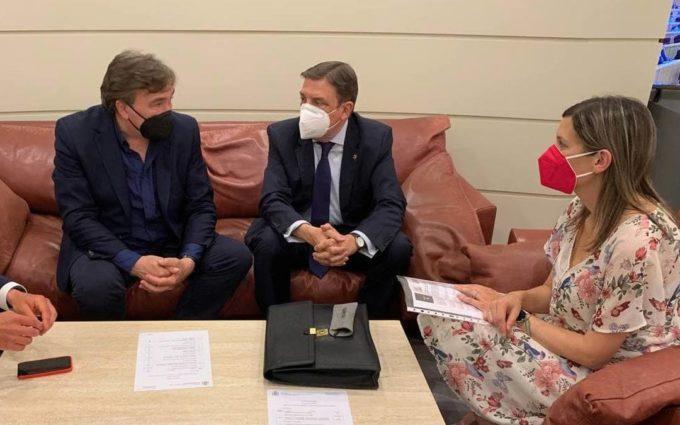 Teruel Existe traslada al ministro Planas sus demandas sobre la PAC, las de UAGA y las de Agrigate