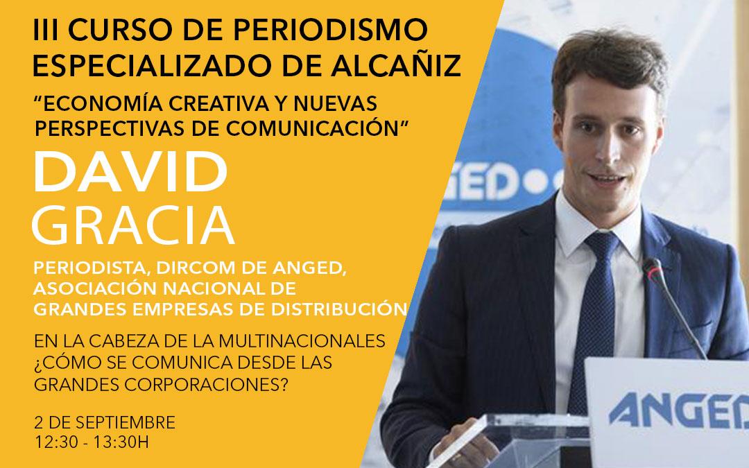 David Gracia, director de comunicación en ANGED / L.C