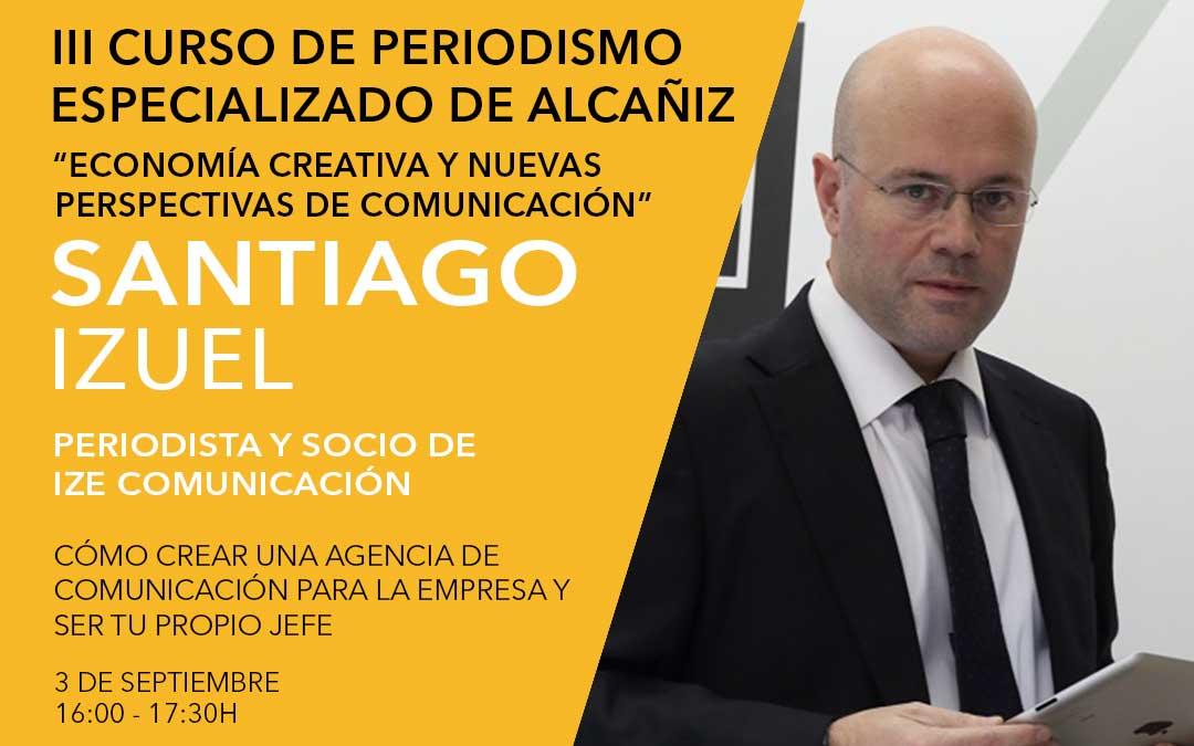 Santiago Izuel, socio fundador de la consultoría de comunicación corporativa IZE Comunicación Industrial./ L.C.