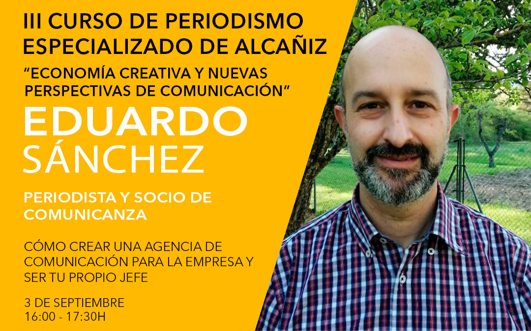 Eduardo Sánchez, socio principal del grupo Comunicanza./ L.C.