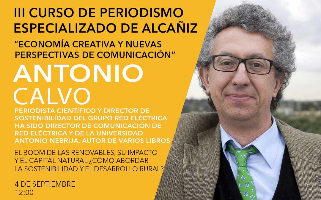 Antonio Calvo, director de Sostenibilidad del Grupo Red Eléctrica./ L.C.