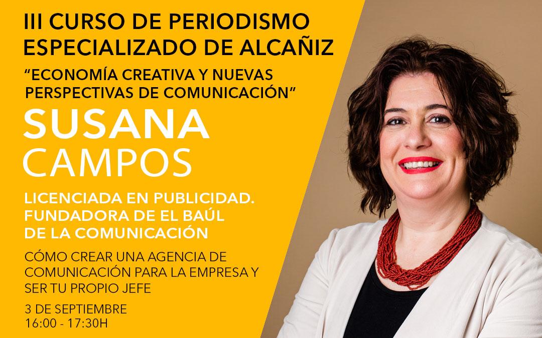 Susana Campos, directora del Baúl de la Comunicación./ L.C.