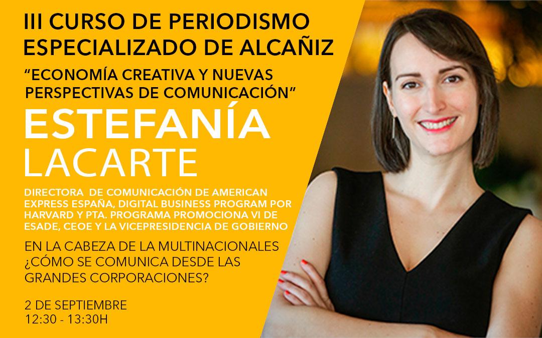 Estefanía Lacarte, directora de American Express España / L.C.