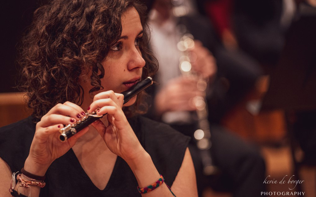 Andrea Rodríguez Berenguer es una enamorada del pícolo.