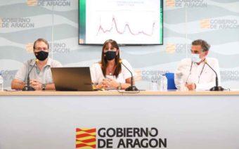 Aragón pide el toque de queda para Huesca, Jaca, Monzón y Barbastro, y reduce a la mitad el aforo de eventos y celebraciones