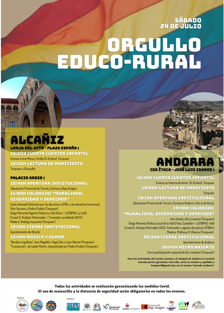 Orgullo Educo-Rural en Alcañiz
