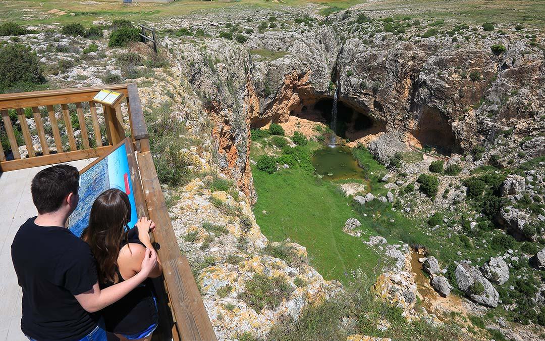 Mirador Barranco del Mortero en Alacón