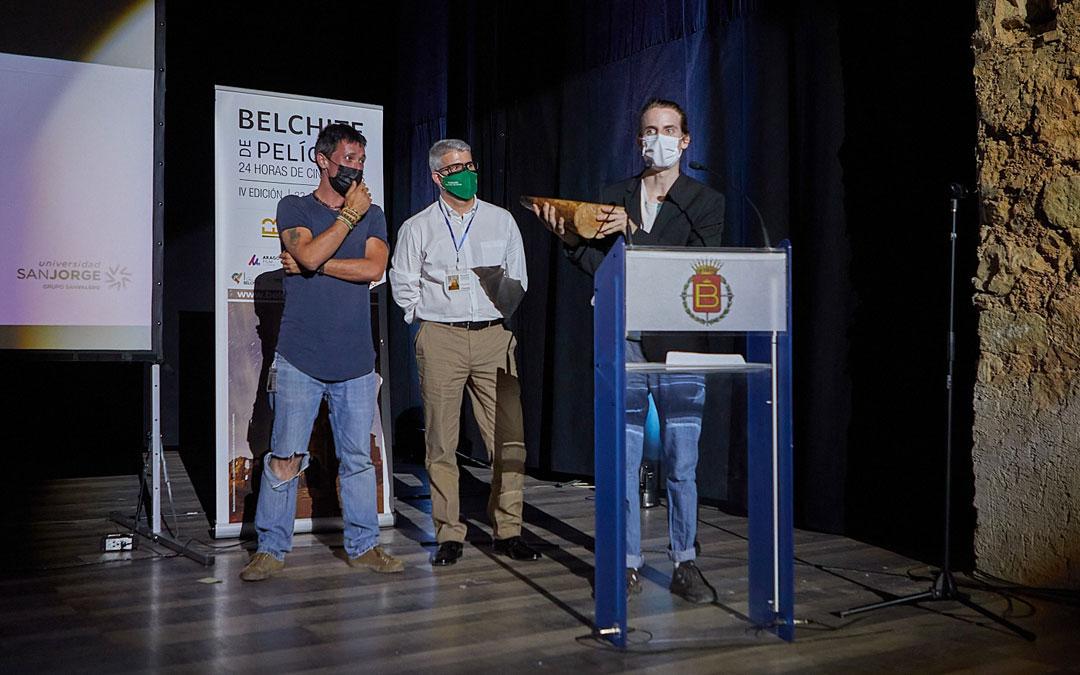 Jose San MIguel recogió el premio a Mejor Interpretación Masculina. / Supercolegas del Infierno