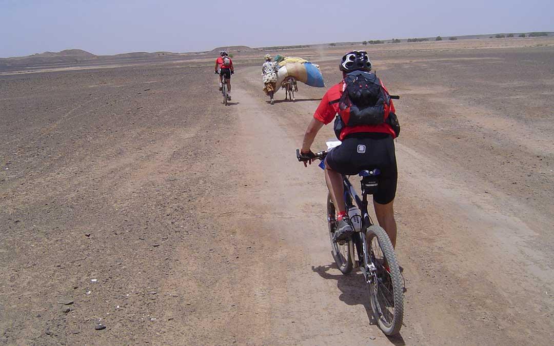 El desierto del Sahara es otro de los lugares que Bosch pudo recorrer y que reconoció, más le fascina. A.B.