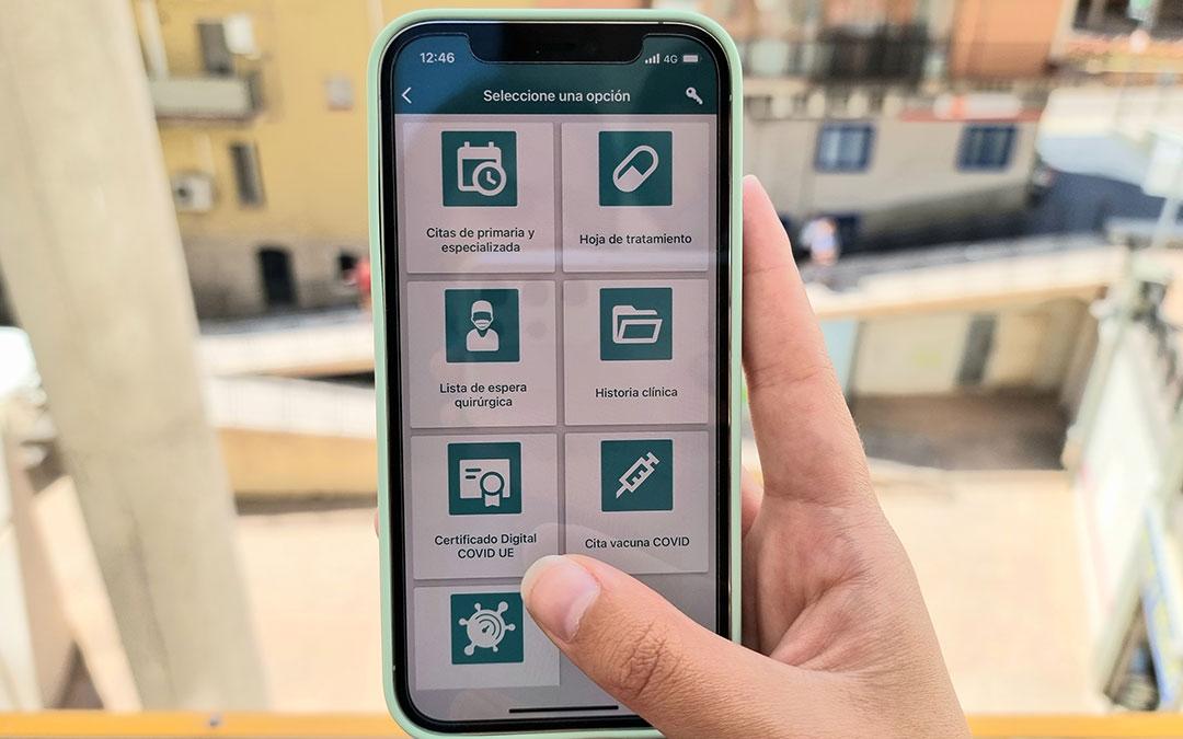 Aplicación de Salud Informa./ L.C.