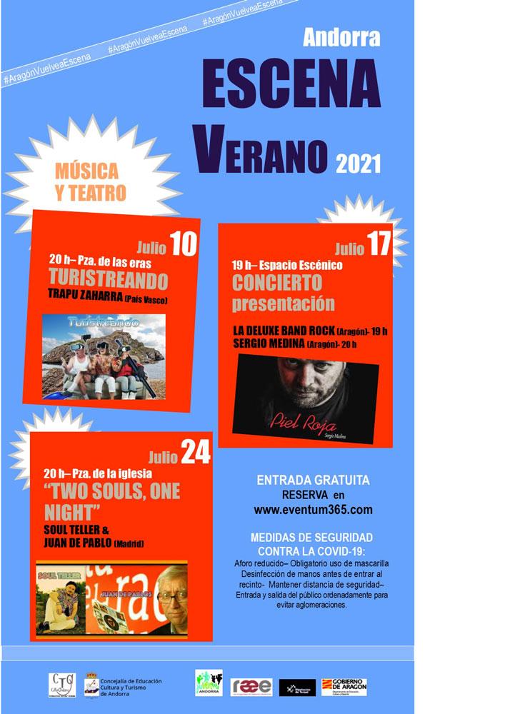 Escena Verano 2021: Ciclo cultural en Andorra