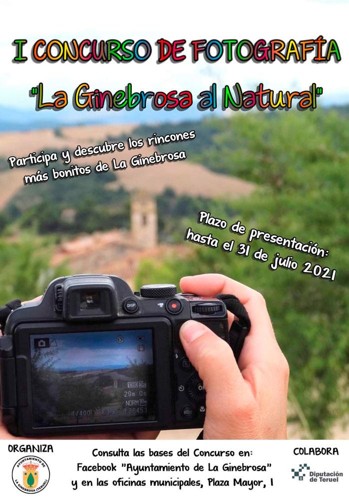 I Concurso de Fotografía «La Ginebrosa al Natural»