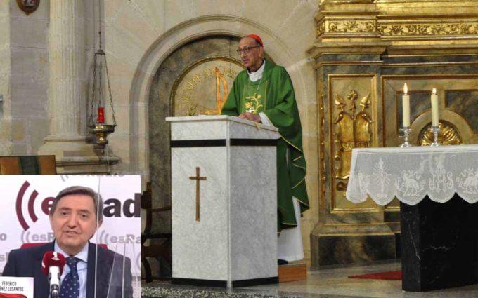 Exigen a Jiménez Losantos que retire sus palabras sobre el cardenal Omella, al que se refirió como «el desertor de Cretas»