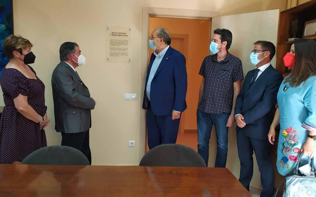 El valderrobrense cuenta desde ayer con una sala de la institución provincial a su nombre./ DPT