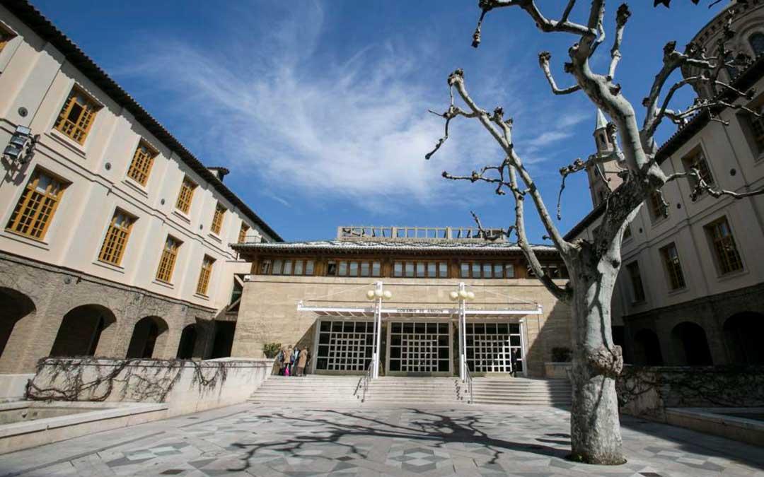 Edificio Pignatelli, sede del Gobierno de Aragón./ Heraldo-Guillermo Mestre
