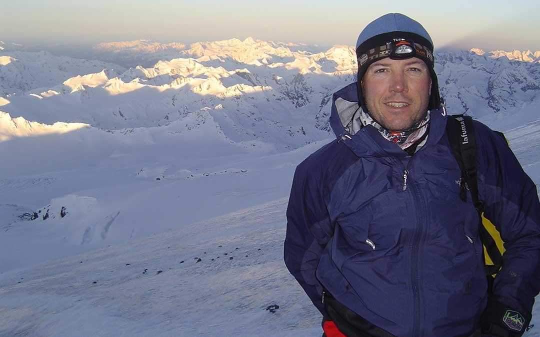 El monte Elbrus es una de las cimas más altas de cada continente que el deportista ha conquistado. Albert Bosch.