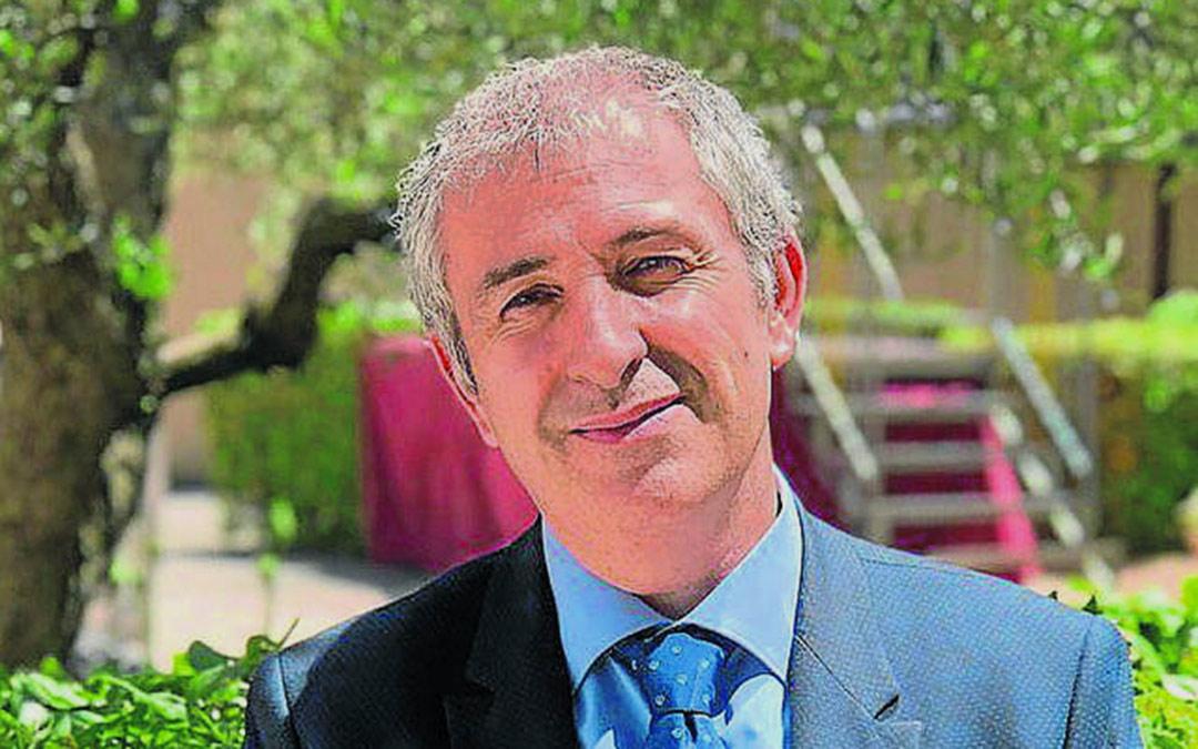 Enrique Ávila, director del Centro de Análisis y Prospectiva de la Guardia Civil y del Centro Nacional de Excelencia en Ciberseguridad./ L.C.