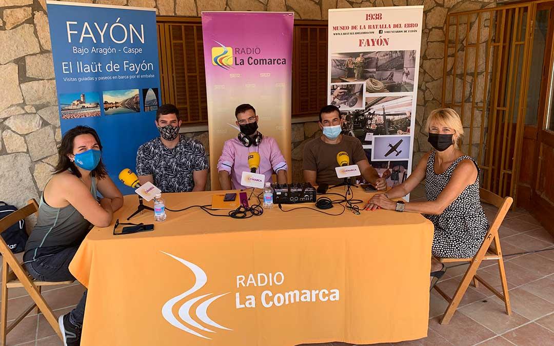 Imagen del programa especial acerca de la Recreación de la Batalla del Ebro en Fayón / Eduard Peralta