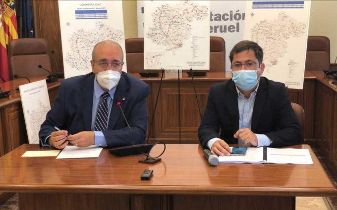 «Considerable avance» de la conectividad en Teruel aunque sigue estando por detrás de Soria y Cuenca