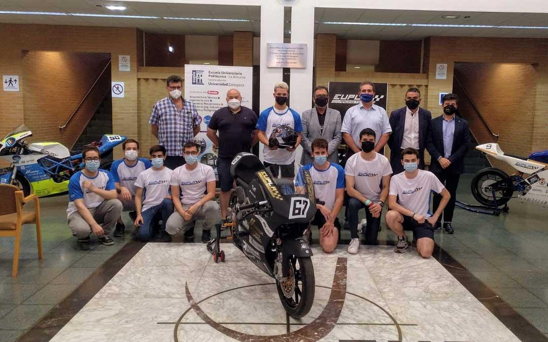 Es la tercera ocasión en la que los estudiantes de la EUPLA participan en MotoStudent / Maszoom